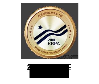 2018 한국 브랜드 선호도 1위